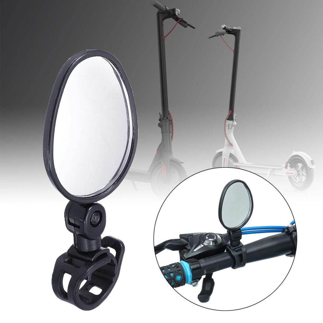 Motorcycle mirrors bar end mirror Rear view Motor handlebar end mirror  Rearview Convex For Xiaomi M365 Ninebot Electric