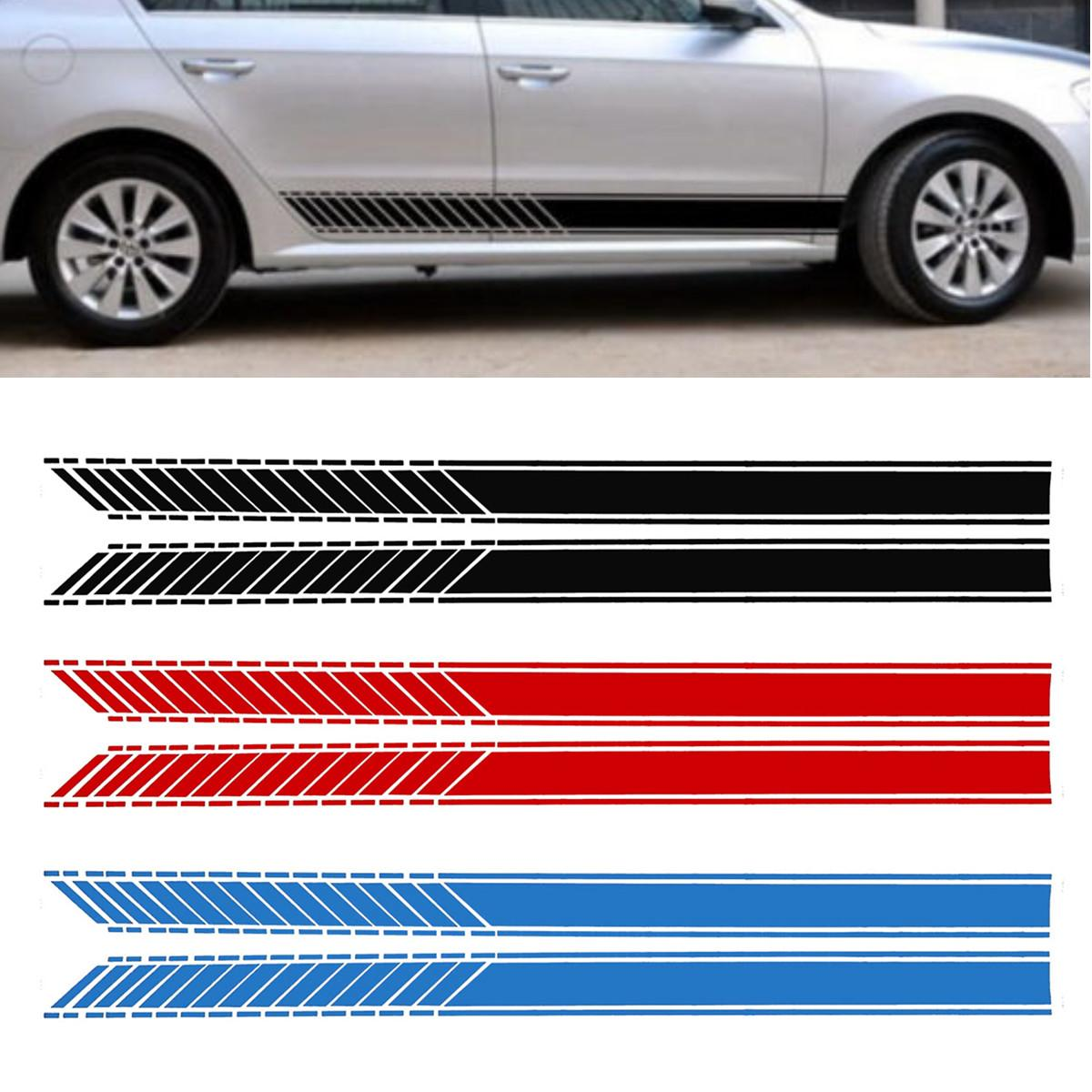 2019 car racing stripe lower door panel decals for lavida vinyl side sticker from haolincar 18 31 dhgate com