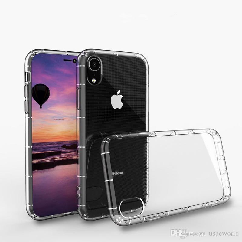 Newest High Quality Anti Shock TPU Phone Case For iPhone XR XS MAX X 8 7 6 Plus Samsung S10 S10+ S10E M20
