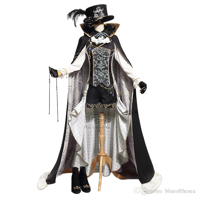 Halloween Costumes For Women 2019.2019 Black Butler Sun Awake Anime Ciel Phantomhive Cosplay Yume 100 Halloween Costume S L Size Free Shipping With Good Quality