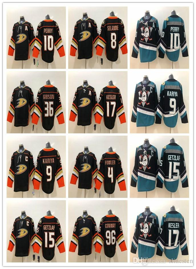 a6934153d 2019 Anaheim Ducks Jerseys 8 Teemu Selanne 9 Paul Kariya 10 Corey Perry 15  Ryan Getzlaf 17 Ryan Kesler Purple Black Stitched Hockey Jerseys From  Slinesten, ...