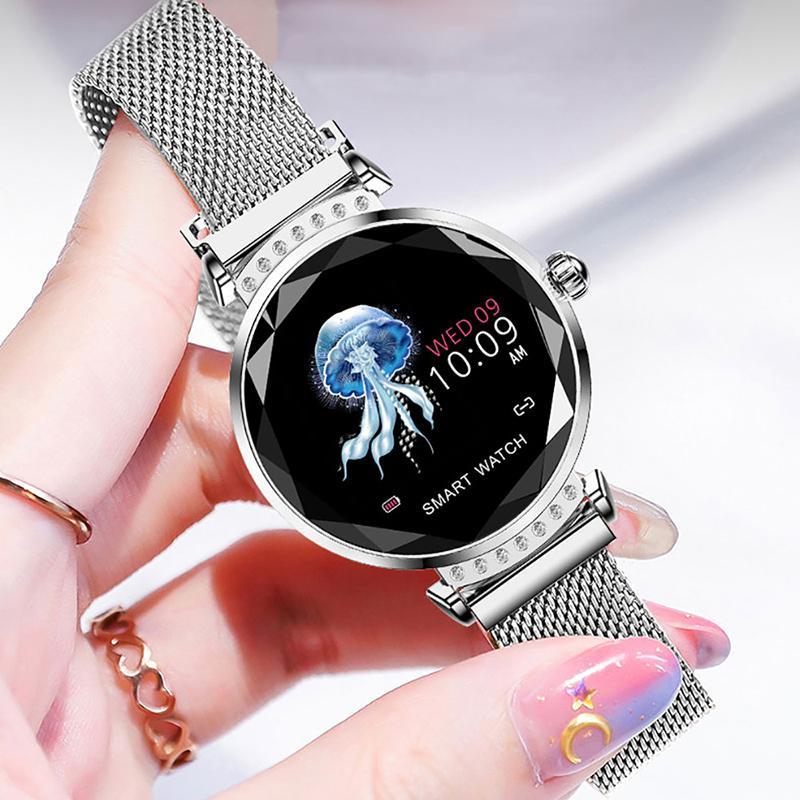 81c55e771c22 Mejores Smartwatch MEISUM 2019 Nueva Moda Reloj Inteligente Pulsera Fitness  Mujeres Presión Arterial Monitoreo De Ritmo Cardíaco Reloj De Pulsera  Mujeres ...