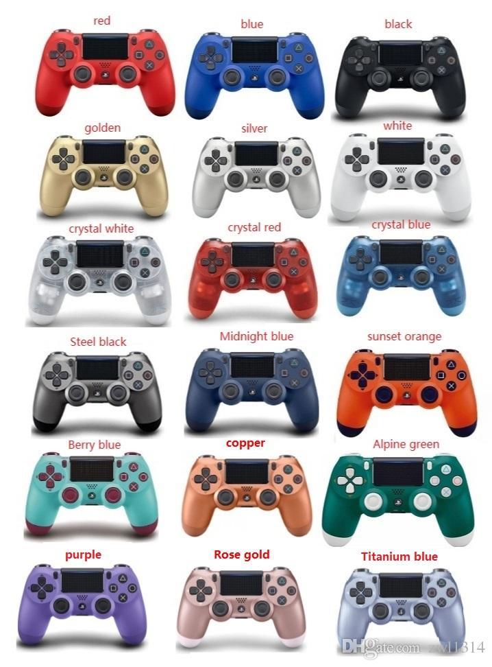 HOT PS4 Wireless Controller für PlayStation 4 PS4-System Spielkonsole Gaming Controller Spiele Joystick mit Kleinpaket