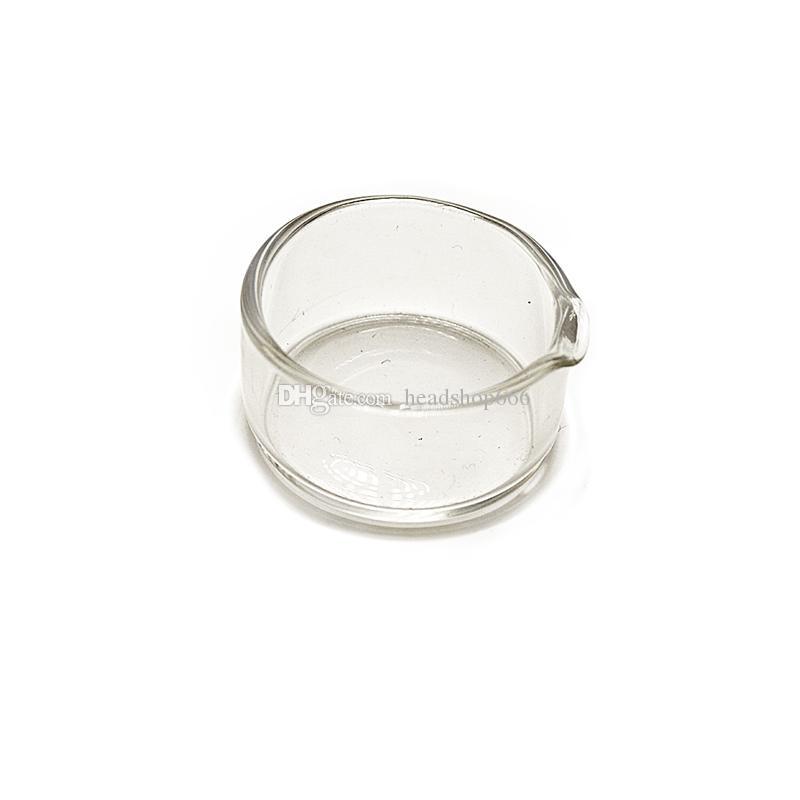 액세서리 유리 오일 용기 용 유리 물 기억 만 비커 파이프 담배 고품질 투명 유리 왁스 요리 오일 컨테이너
