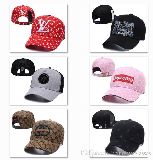 5da20dfffb2 2019 New Summer Trucker Hats Caps Snapback Hats Men Women Adjustable ...