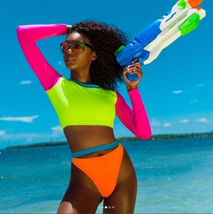 beaf442dd8a01 Seazea 2018 Sexy Bikinis Sets Fasten Breast Swimsuit New Style Swimwear  Bikini Women's Bathing Suits Female Beach Wear Biquini