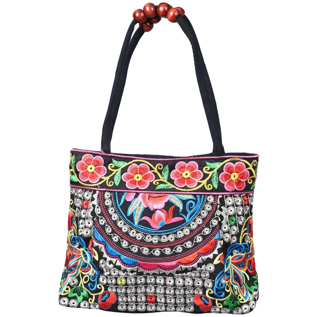 52bd77f5d3ba7 Chinese Style Women Handbag Embroidery Ethnic Summer Fashion ...