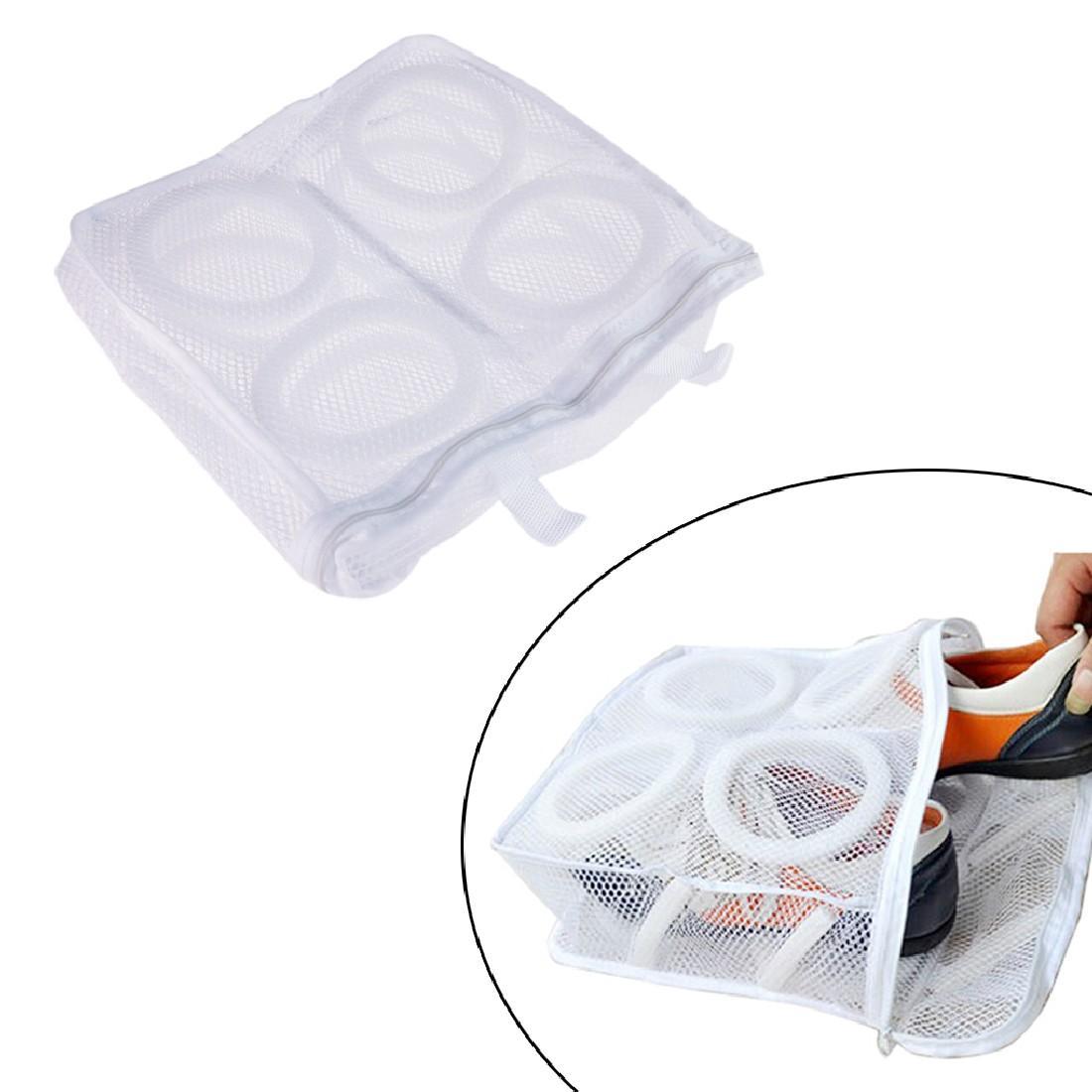 كيس الغسيل أحذية منظم حقيبة للأحذية مش الغسيل أحذية حقائب الجافة الحذاء الرئيسية المنظم المحمولة الغسيل أكياس الغسيل