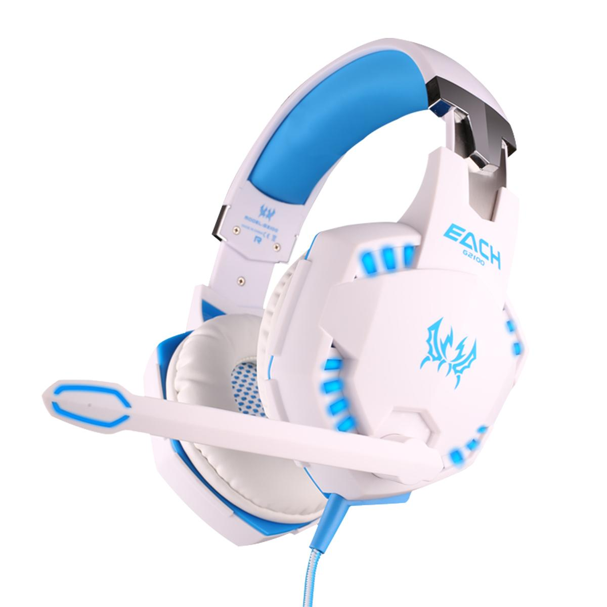 G2200 Hot Sale Factory Direct Price Earphone Led Gaming Headsets with  Vibration 3d Sound Effect China Supplier