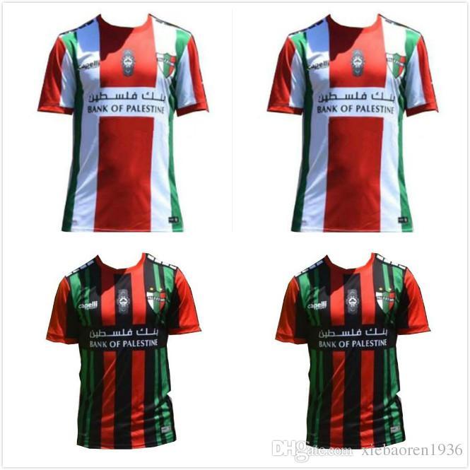 f8f4278d1bb4 2019 1 19 20 CD Palestino Home SHIRT CUSTOMIZE 2019 2020 Soccer Jersey  Black Football Shirts From Xiebaoren1936