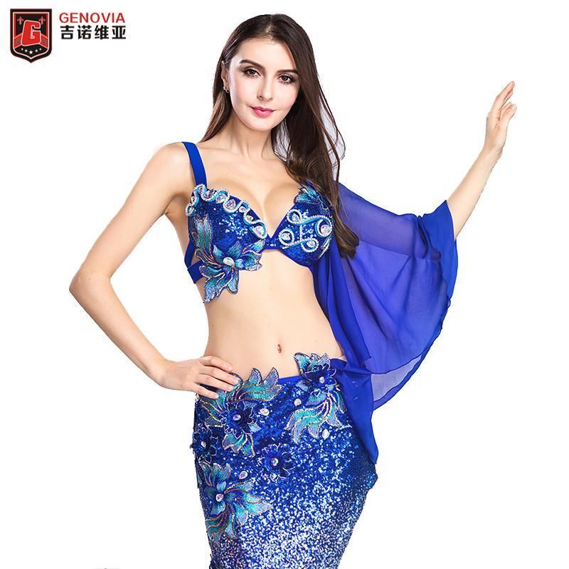 50153327d Compre Traje De Danza Del Vientre Para Mujer Ropa De Baile Ropa Para Bailar  La Danza Del Vientre Traje De Trajes De Baile Oriental + Falda Larga Para  ...