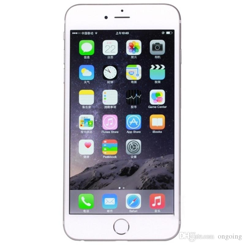 APPLE sbloccato iPhone 6 Plus 16 GB 64 GB 128 GB 5.5 Schermo IOS 3G WCDMA 4G LTE 8MP senza Touch ID DHL gratuito
