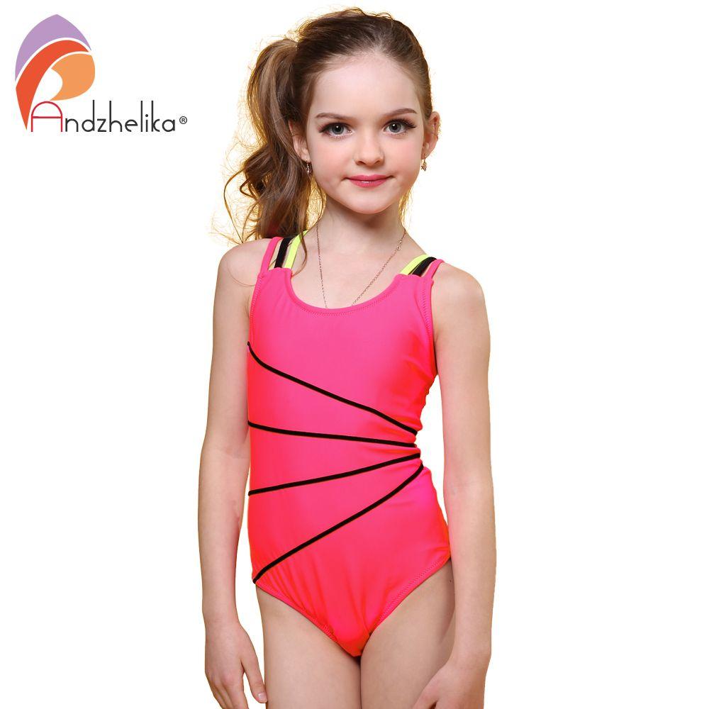 de9efd7a7055c Andzhelika swimsuit girls one piece swimwear solid bandage jpg 1000x1000  Iraq girls swimsuit