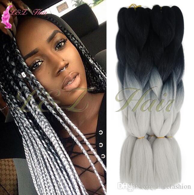 Box Braids Crochet Hair Extension 3s Crochet