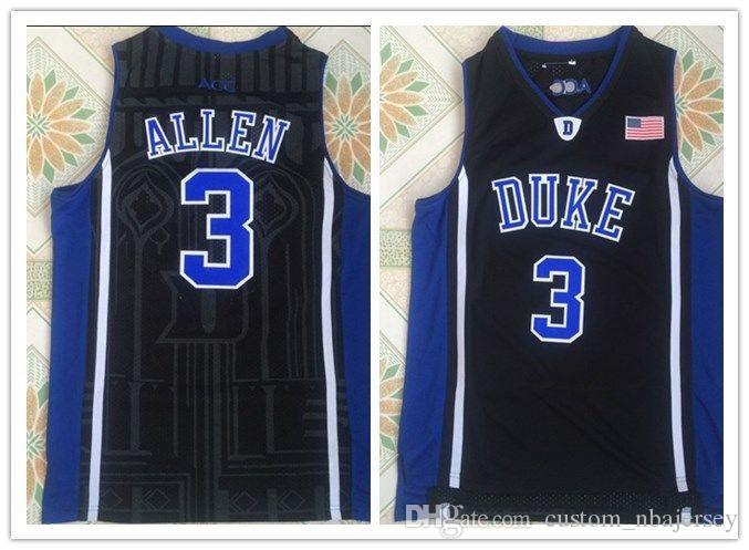 42b6923b14fd 2019 Cheap Custom Blue Devils  3 Grayson Allen Black Basketball Jersey  Stitched Customize Any Number Name MEN WOMEN YOUTH XS XXL From  Custom nbajersey