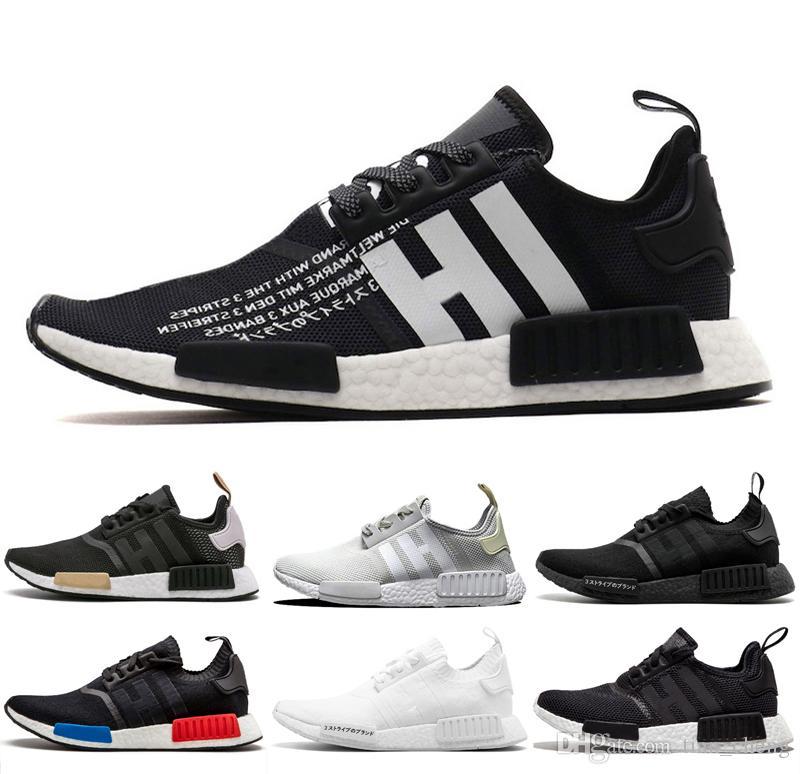 Elección de gama alta Zapatillas Adidas Nmd, Negra Blanco
