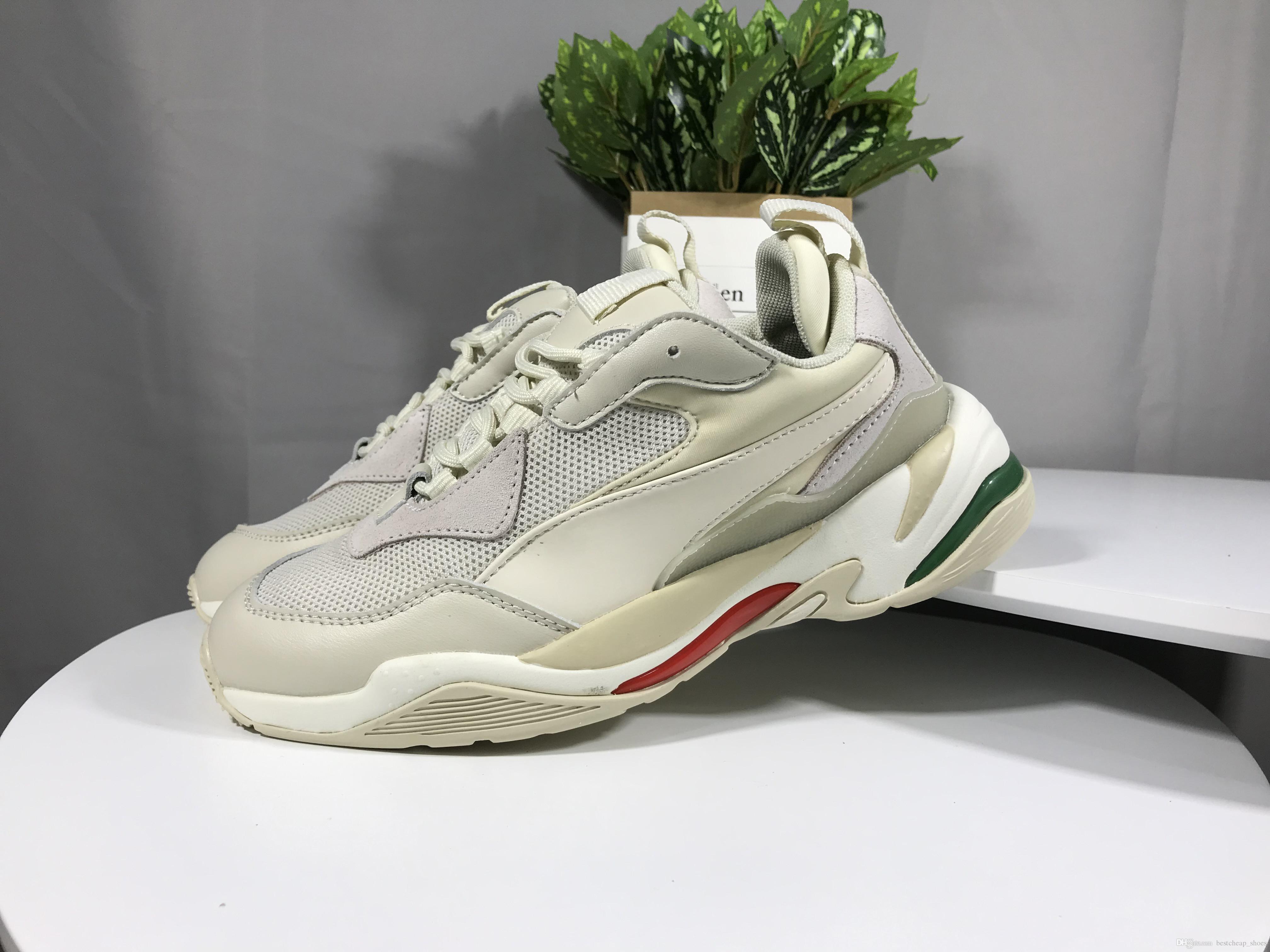 brand new ac900 396e8 Geox Scarpe Puma Novità Scarpe Da Ginnastica Thunder Spectra Green Ace  Scarpe Da Uomo Di Design Python Scarpe Da Donna Di Lusso Brand Casual  Sneaker Triple ...