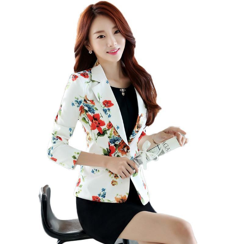 2019 New Fashion Women Blazers And Jackets Korean Style Female Blue Blaser Coat Femme Feminino Plus Size Work Wear Suit Blazers Suits & Sets