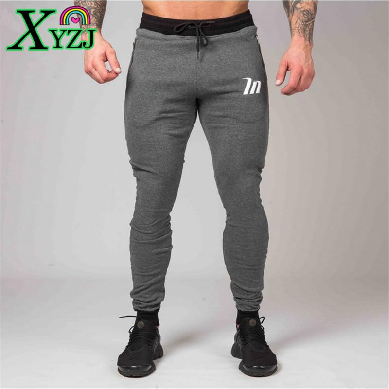 10d6bb42c0eaa 2019 Sweatpants Autumn Winter Fashion New Men Cotton Jogger Man Running  Workout Training Slim Trousers Male Gym Fitness Bodybuilding Sports Pants  From Xyzj, ...