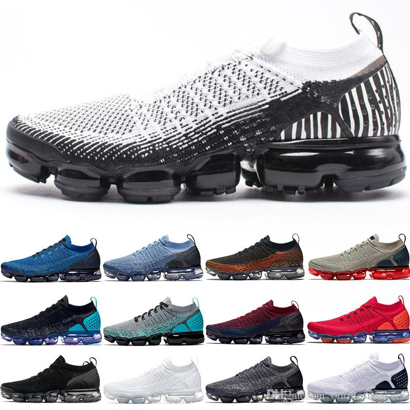 244d210ed2c 2019 Cheap Xamropav 2.0 Plus Men Women Running Shoes Zebra Triple Black  White Tiger Red Orbit Olympic Designer Trainer Sport Sneaker Size 36 45  From ...