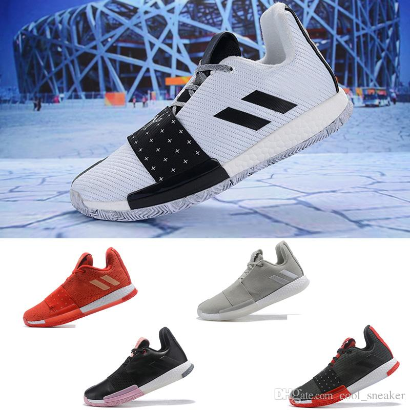 timeless design 37149 4308f Compre Adidas James Harden 3 Vol.3 III Zapatillas De Baloncesto Para Hombre  Zapatillas De Deporte Deportivas De Alta Calidad Talla 40 46 A  68.35 Del  ...