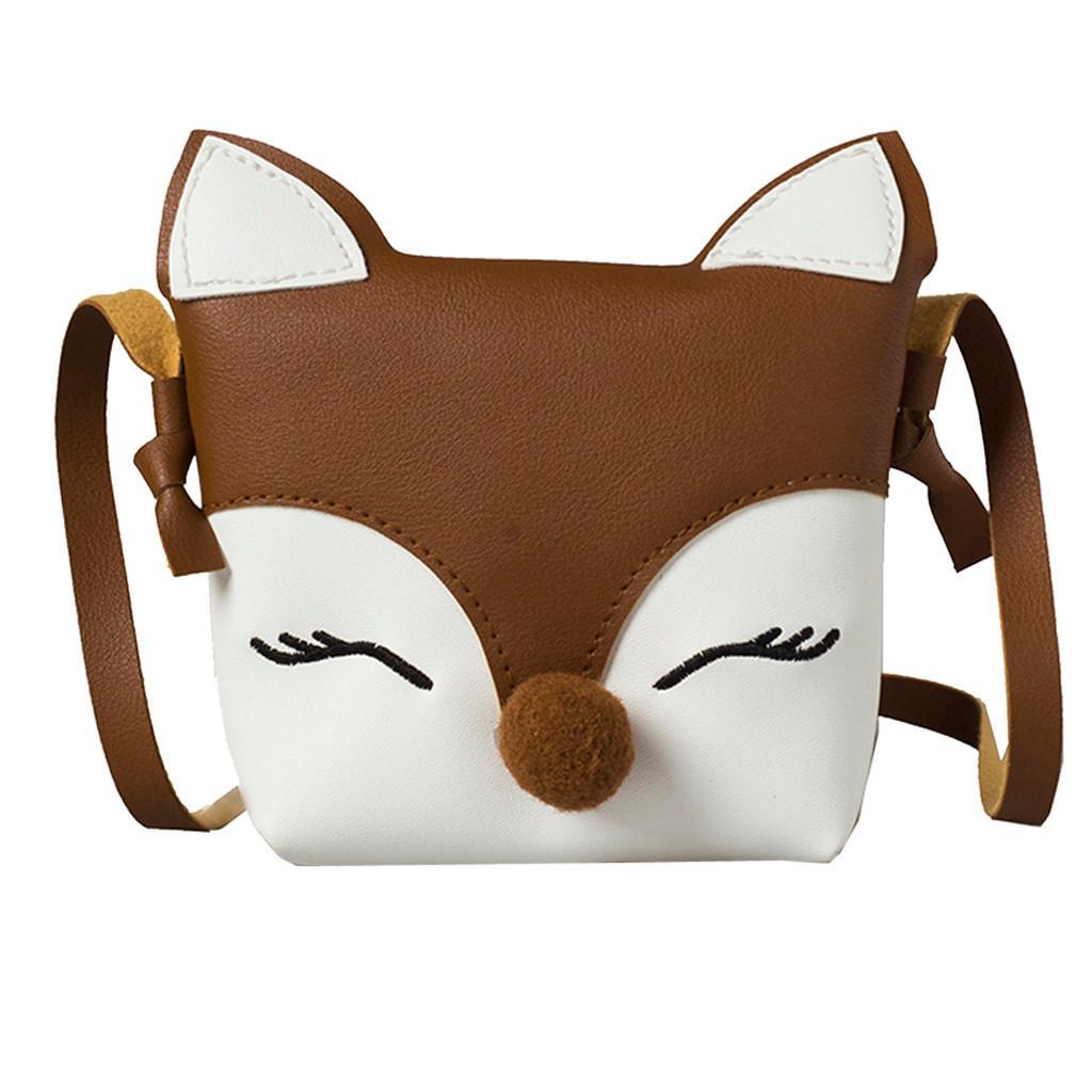 Borse Baby Acquista A Bambini Portafoglio Fox Carino Hot Mini wn64Af6z0
