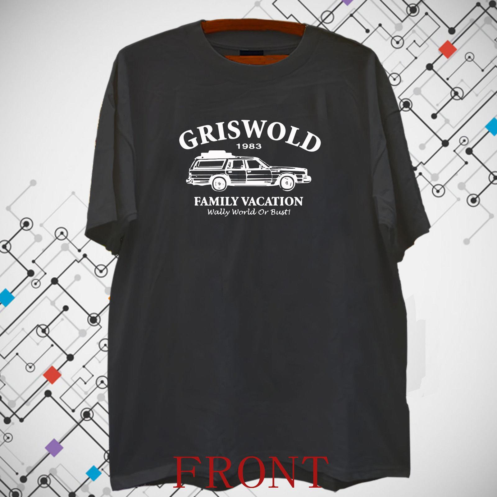9d2de6b1 Brand New Griswold Family Vacation Wally World Bus Men's Black T shirt Tee S -3XL Funny free shipping Unisex Casual Tshirt top