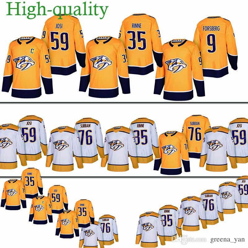 2019 Youth And Adult Nashville Predators Hockey Jersey 35 Pekka Rinne 76  P.K. Subban 59 Roman Josi 9 Filip Forsberg Hockey Jerseys 2018 New From  Greena yan c85205bd3