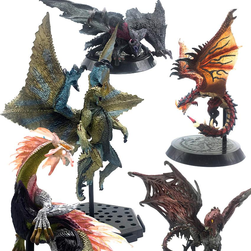 Monster Hunter World MHW Game Figure Action PVC Modle Toys Adult Gifts CAPCOM Figures Collectible Dragon Monsters