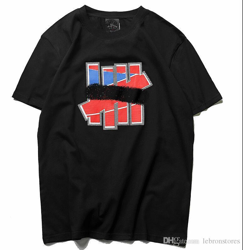 f7522c0bec Compre 19SS Nueva Camiseta Para Hombre De Lujo Camiseta Diseñador De La  Marca De Ropa De Moda Urbana Undefeateds Camiseta Hip Hop Camiseta Casual  De La ...