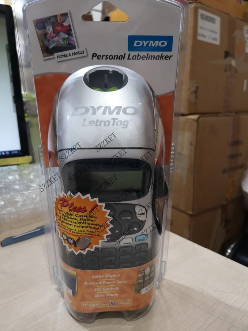 New original For Dymo LT-100H 21455 letraTag Plus LT100H Handheld Label  Printer for 12mm letratag label tapes ribbon 91201 91202