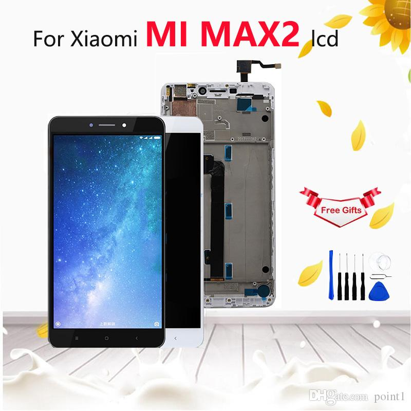 For Xiaomi Mi Max LCD display touch screen digitizer Xiaomi Mi Max 2 LCD  with frame Screen Replacement max1 max2 LCD Assembly