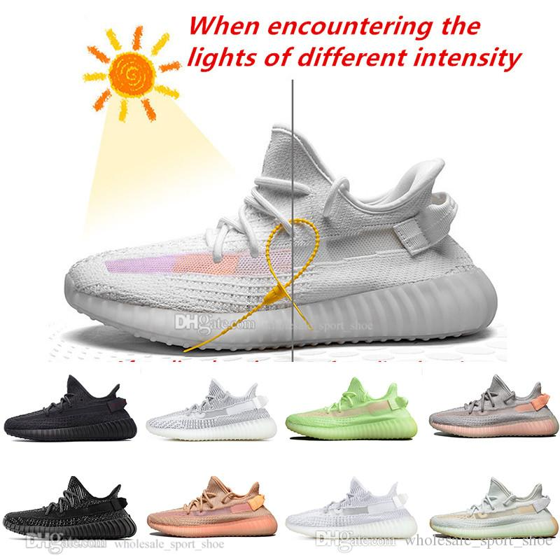 0050b332 2019 In Stock Kanye West Clay V2 Static Reflective GID Glow In The ...
