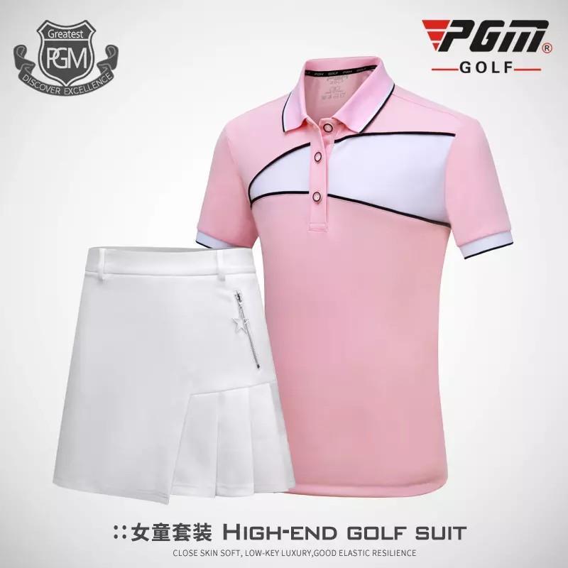 b25a227e3 PGM Children's Outdoor Sports Golf Sportswear Summer Girl's Golf ...