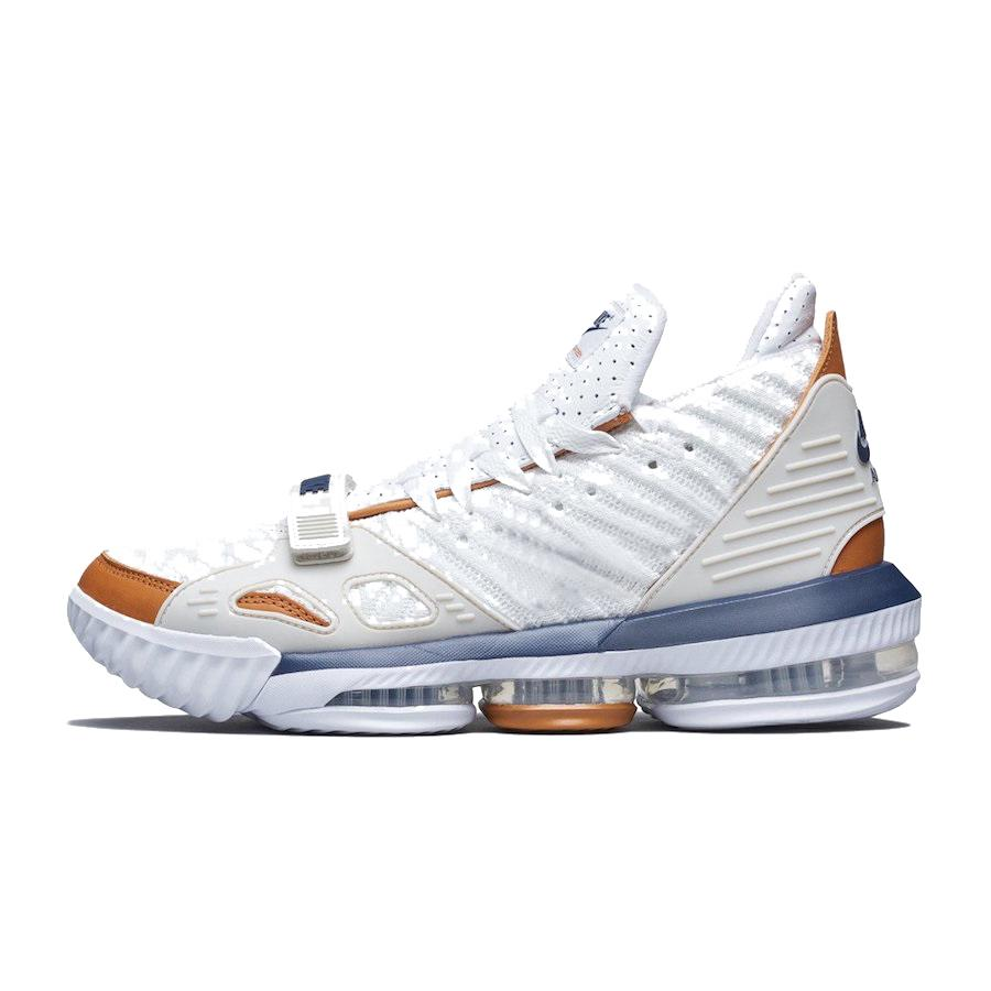 92a26af56345 Cheap Mens Lebron 16 Low Basketball Shoes for Sale Black Gold Tan ...