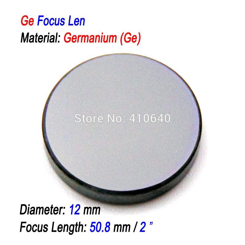Neues Produkt Laser Focus Len Mit Ge Germanium Materialdurchmesser 12 Mm Fl 508 Mm Speziell Für 30 Bis 50 W Laser Seal Maschine