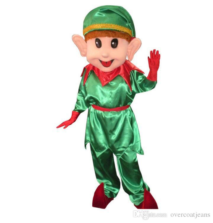 Superb Christmas Elf Mascot Costume Lovely Christmas Clown Cospaly Cartoon  Character Adult Halloween Party Costume Carnival Costume Halloween Costumes  Kids ...