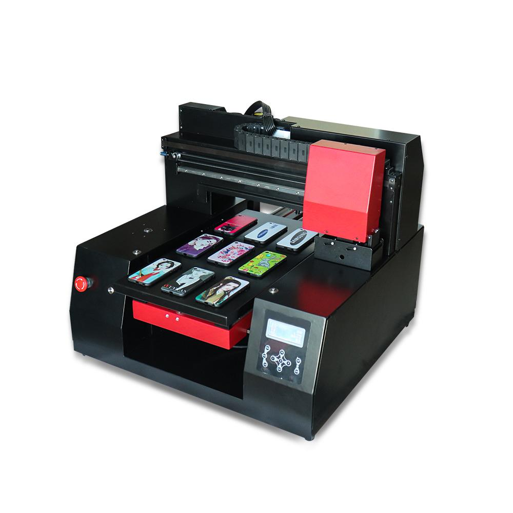 Fast Speed 3060 UV Printer 12 color with double printheads For DX9  Printhead for phone case/Leather/TPU/ABS/Card/Borad etc