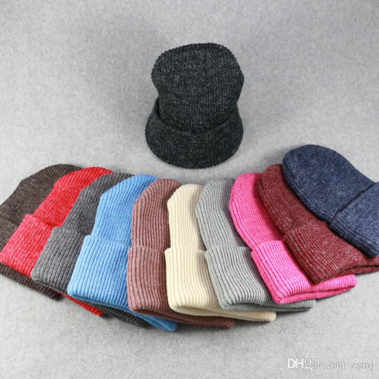 e1cb94daf7d Bulk Artificial Bunny Fur Winter Hats Adult Children Brand Hats ...