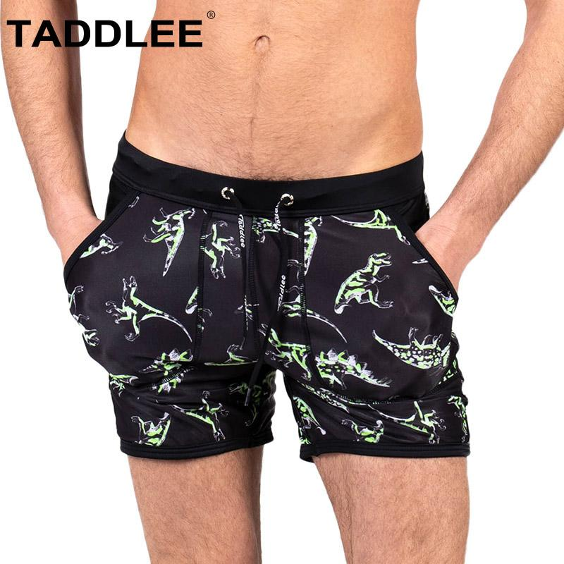 85a7f57700 Taddlee Brand Sexy Men's Swimwear Swim Briefs Boxer Swimsuits Male Surf  Short Swim Shorts Trunks Bikini Bathing Suits Square Cut