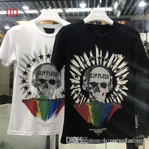 16b04840e87 Brand men's wear designer t-shirts, men's fast dry casual t-shirts, pure  cotton fashion polo, new color stickers jacket short slee