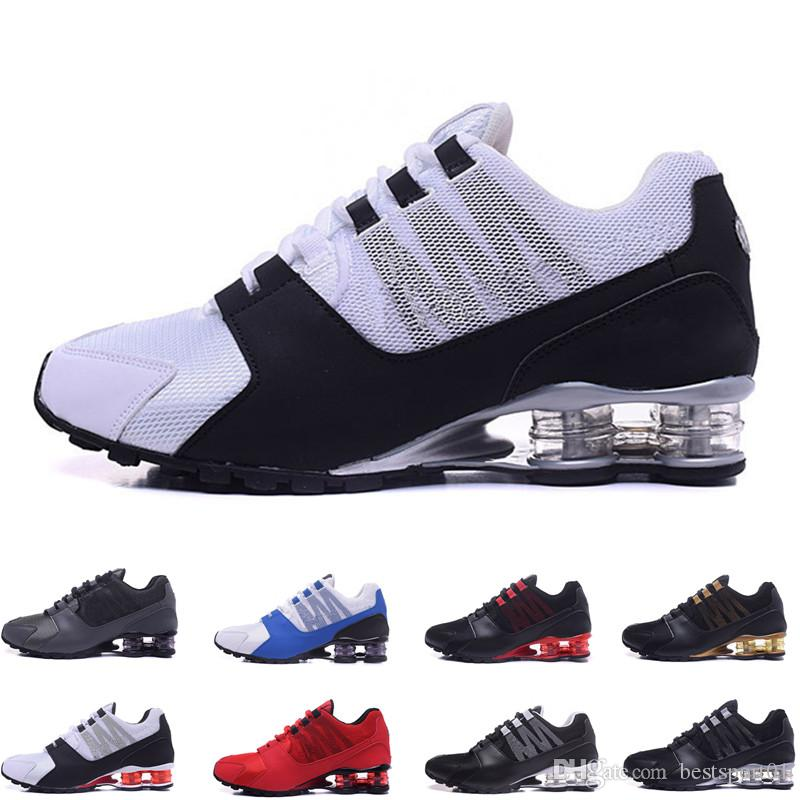 808667fb5 2019 Mens Shox Avenue 802 803 Casual Shoes Chuassures Shox Nz Shoes ...