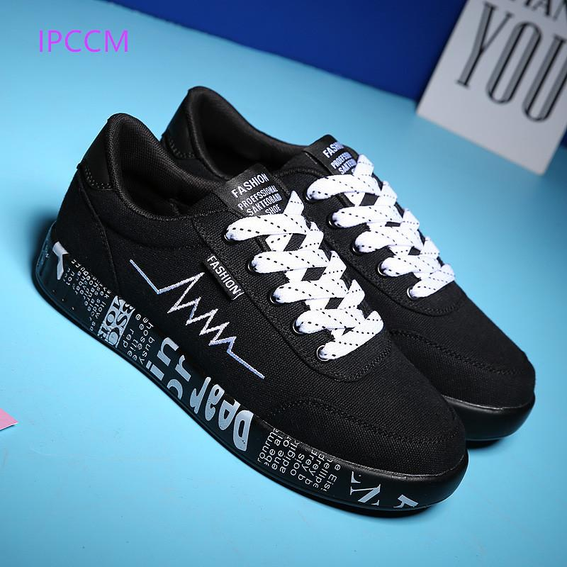 Spring 2019 Fashion Youth Canvas Shoes For Men And Women Trend