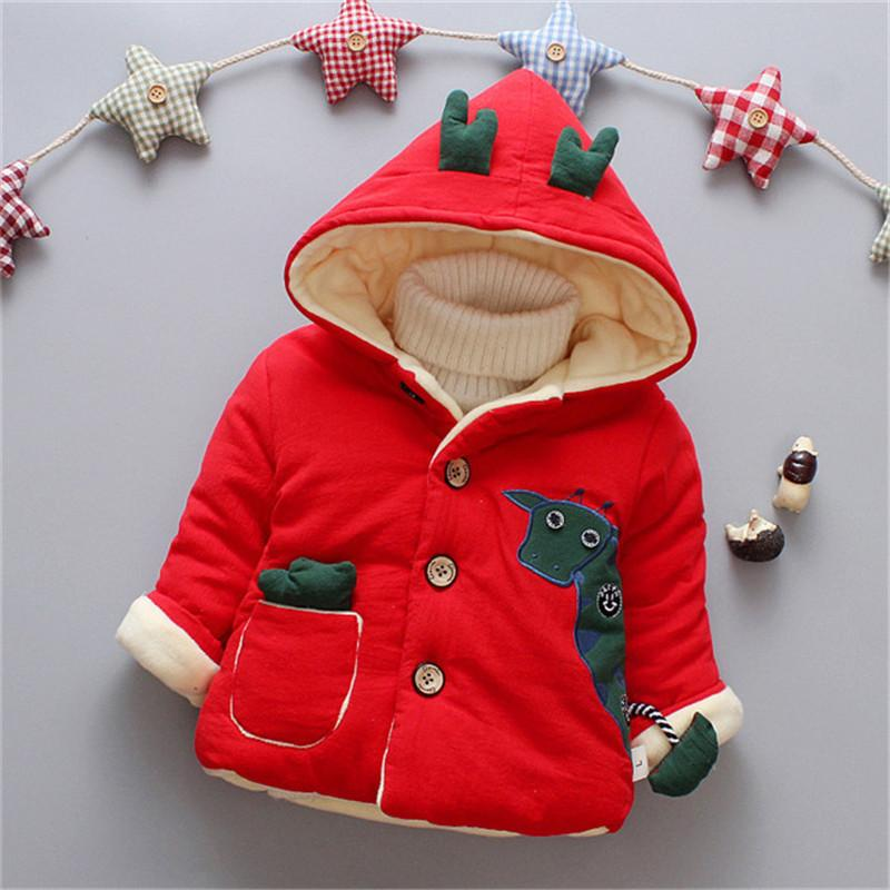f27f1eb47abc Good Quality Baby Boys Coats Jackets Winter Warm Infant Cartoon Dowm ...