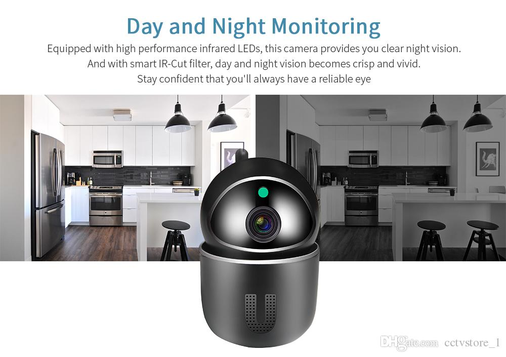 1080P Cloud IP Camera Auto Tracking Surveillance Camera Home Security Wireless WiFi Network CCTV Camera Baby Monitor