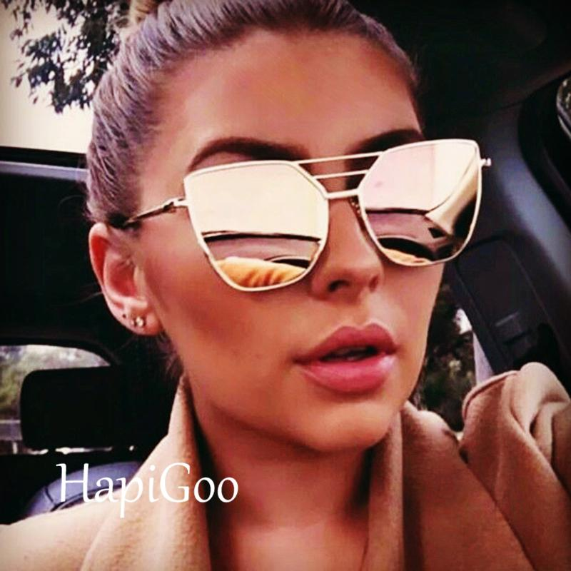 8d25fc0d8bb Ladies Fashion Cat Eye Sunglasses Women 2019 New Brand Designer Rose Gold  Sun Glasses Female Shades UV400 Sunglass Cheap Sunglasses From Naixing