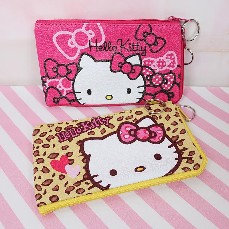 a basso prezzo bdba1 8a3e1 Hello Kitty Bag Mini Pouch Coin Bag PU Purse Zero Portafoglio Portable  Girls Purses Small Bags Regalo per bambini pochette porta moeda P-4