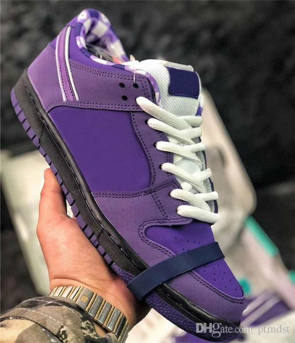 new product dfe54 54656 2019 New Designer Concepts Sb Dunk Low Kyrie Blue Purple Lobster Running  Shoes Dunks Women Mens Trainers Zoom Sneakers