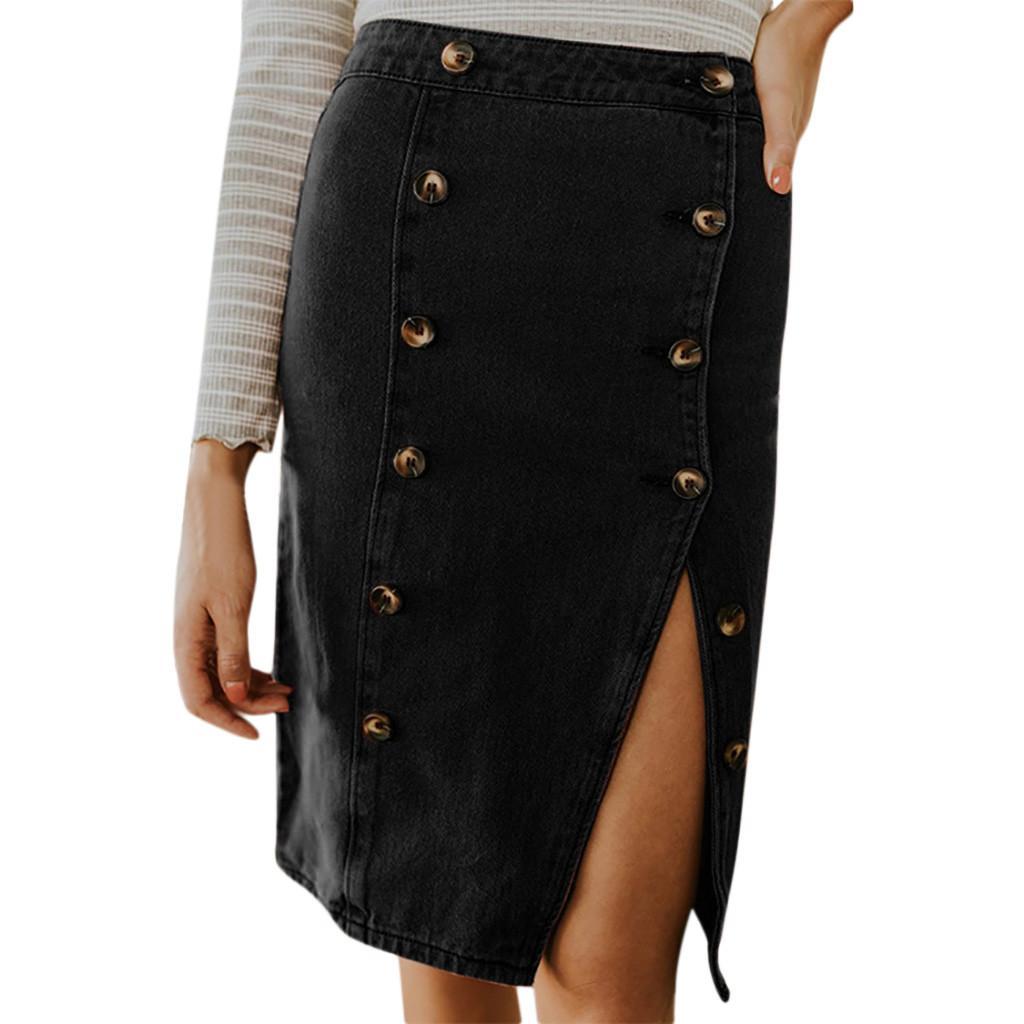 a4e66c910f Long Denim Skirts Wholesale – DACC