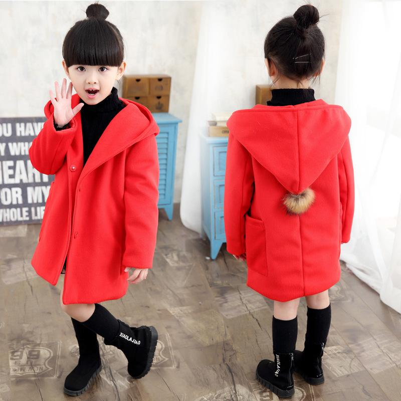 fa191353848c Girls Clothes Trench Coats Jackets For Clothing Tops Kids Children ...